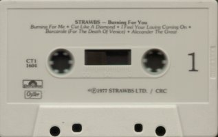Burning US club cassette Side 1