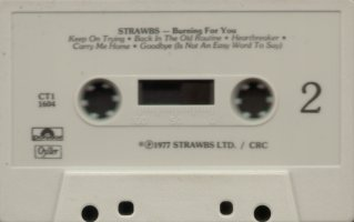 Burning US club cassette Side 2
