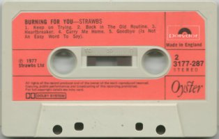 Burning cassette Side 2